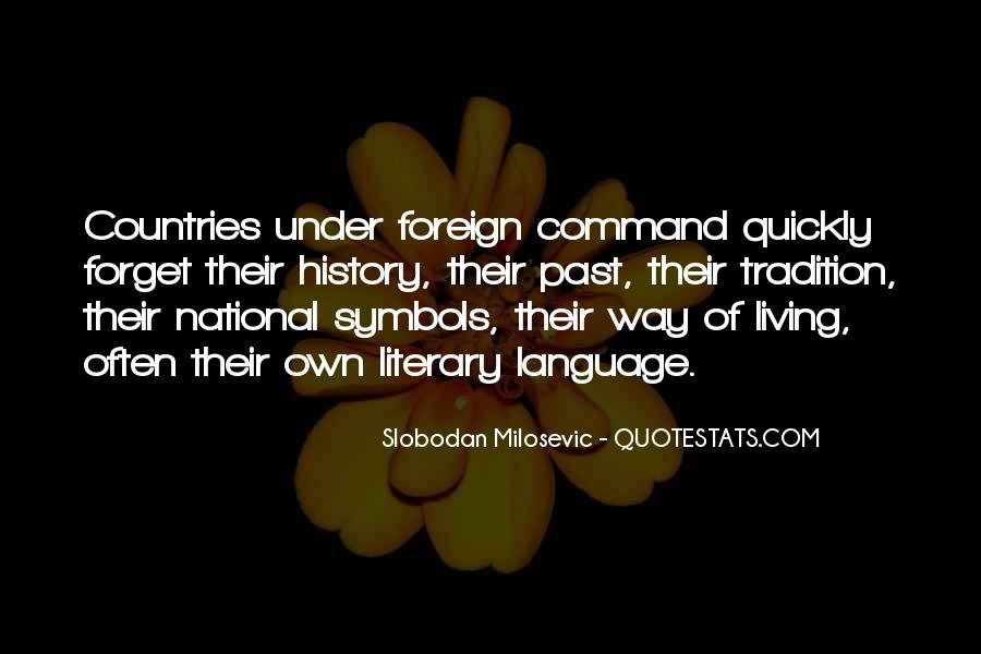 Quotes About Living Your Country #297853