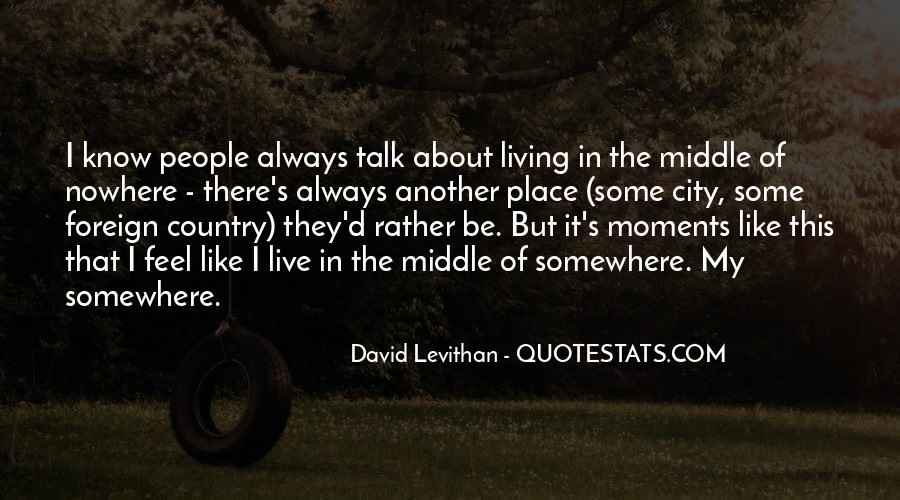 Quotes About Living Your Country #310023