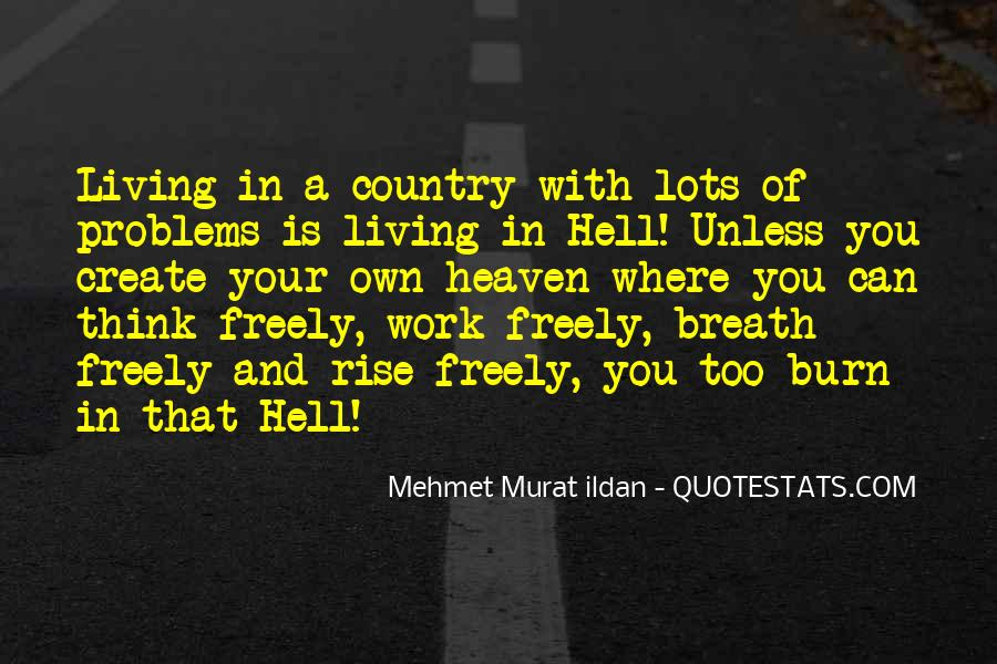 Quotes About Living Your Country #401192