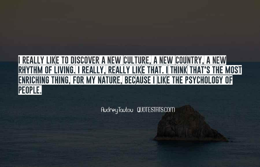 Quotes About Living Your Country #410843