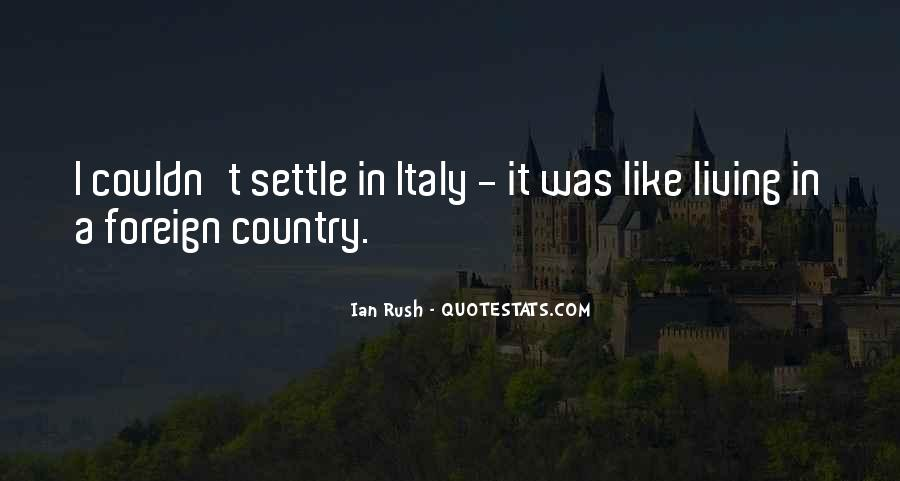 Quotes About Living Your Country #425279