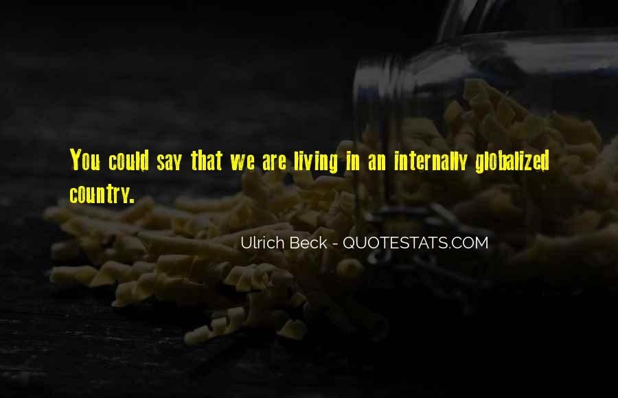 Quotes About Living Your Country #555294