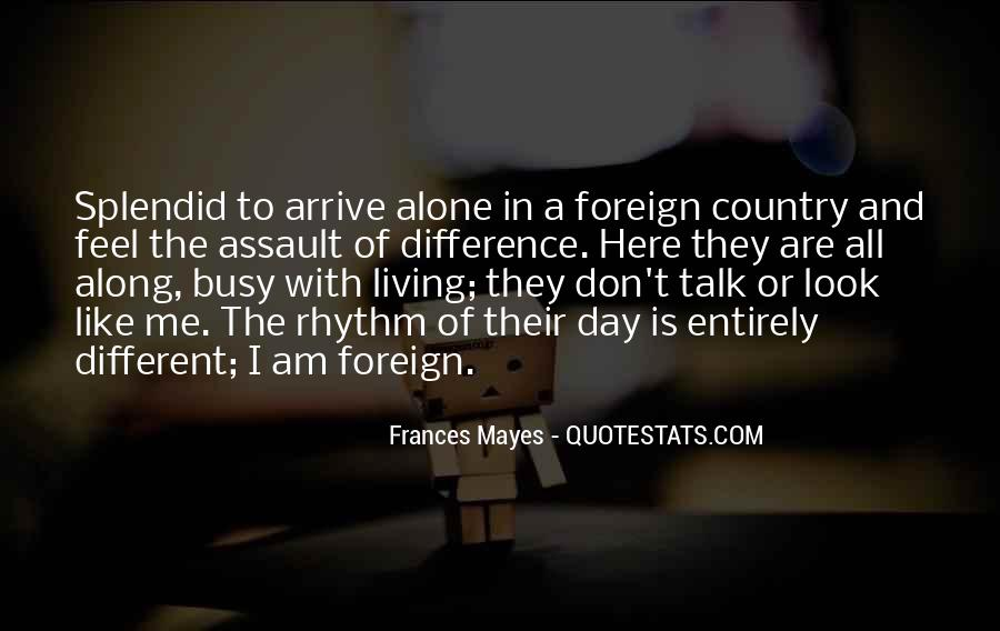 Quotes About Living Your Country #70693