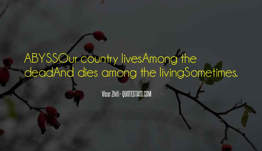 Quotes About Living Your Country #71174