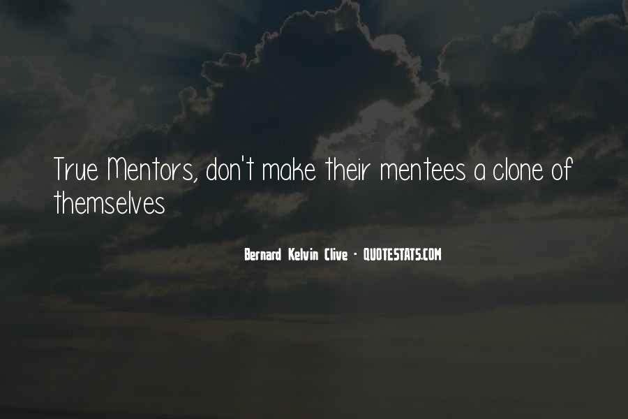 Quotes About Mentors And Mentees #1505347