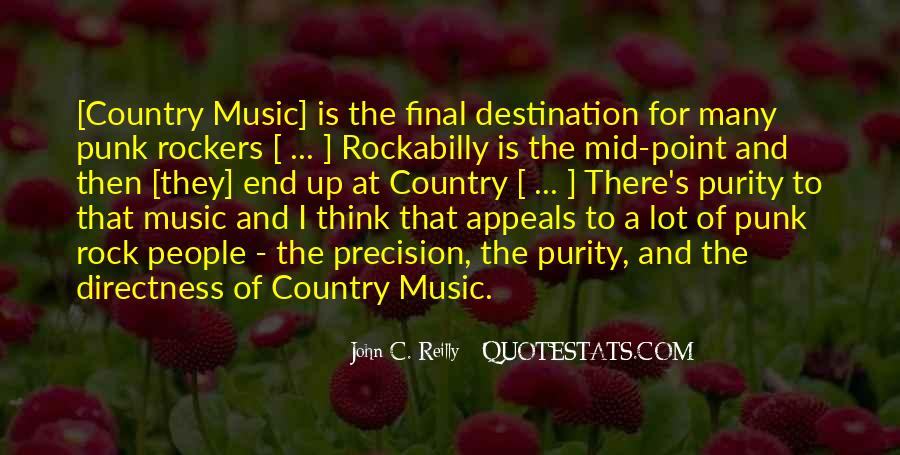 Quotes About Punk Rockers #1741513