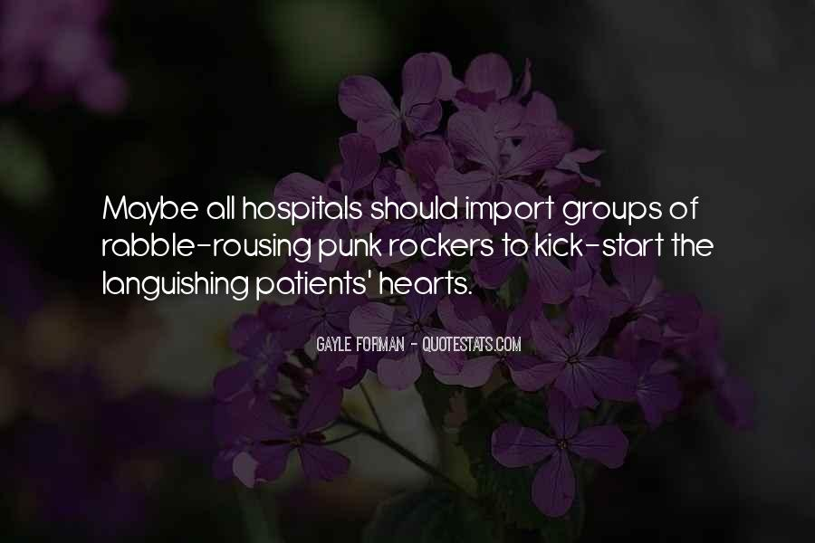 Quotes About Punk Rockers #551854