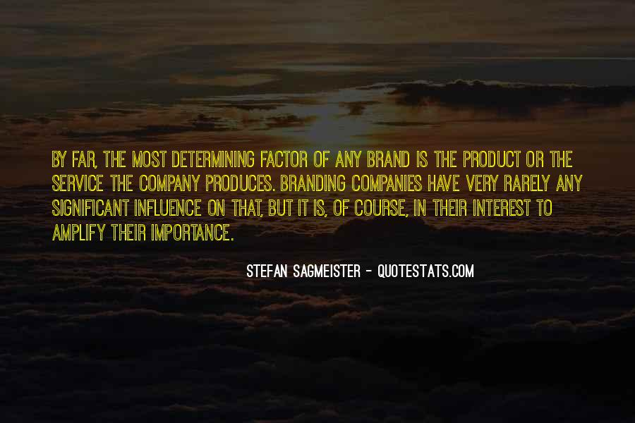 Quotes About Significant Influence #961223