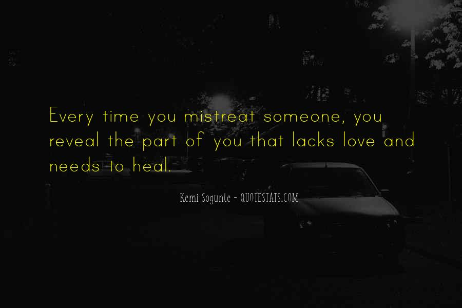 Quotes About Time Healing Relationships #516825