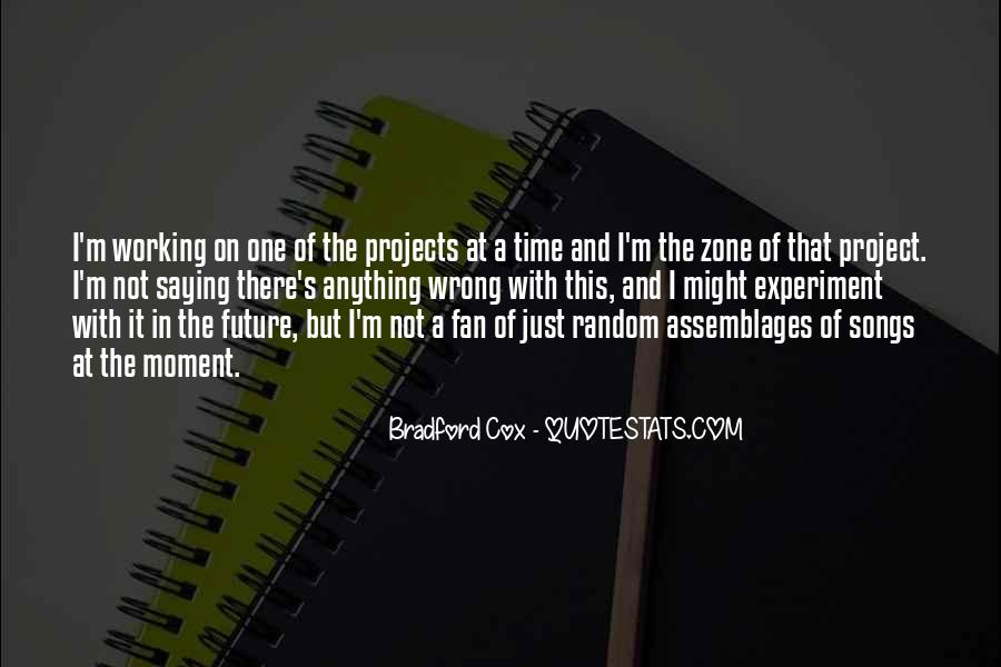 Quotes About One's Future #168737