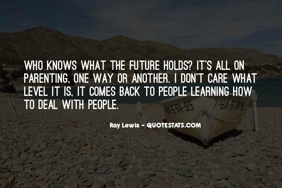 Quotes About One's Future #192361