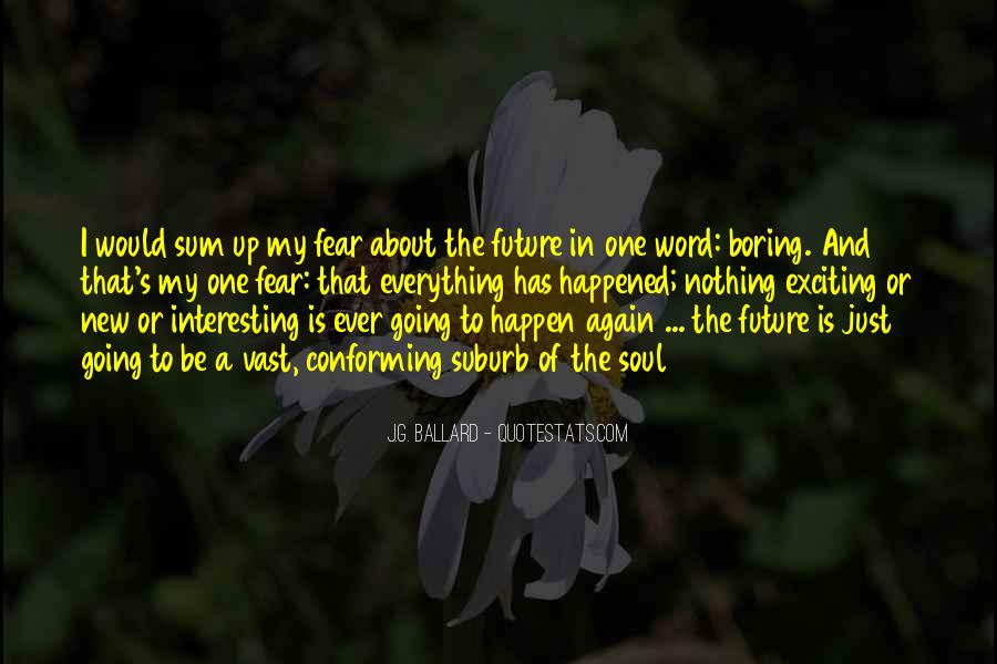 Quotes About One's Future #566264