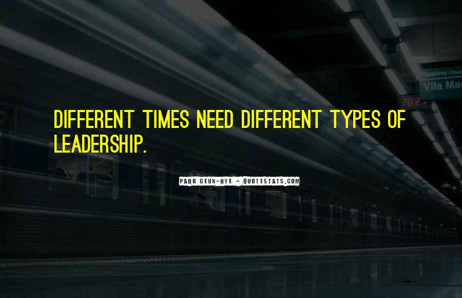 Quotes About Types #25025