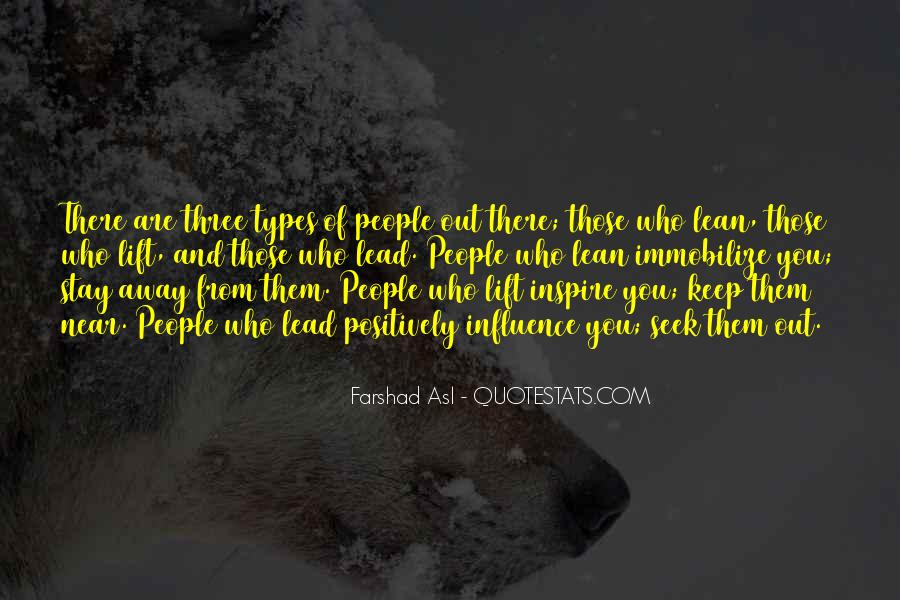 Quotes About Types #29711