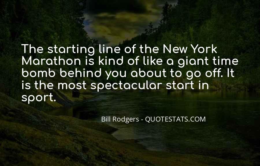 Quotes About Starting Over In Sports #1587120