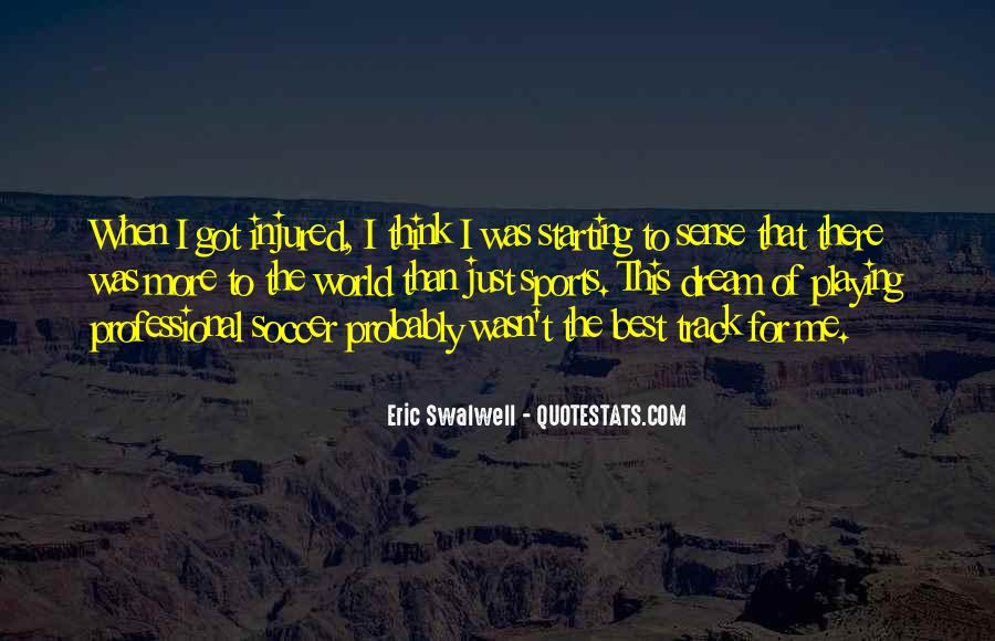 Quotes About Starting Over In Sports #1703725