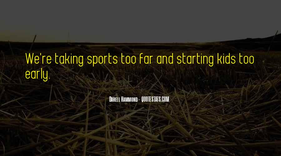 Quotes About Starting Over In Sports #4743