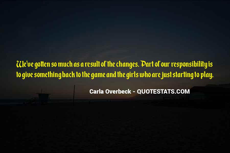 Quotes About Starting Over In Sports #725269