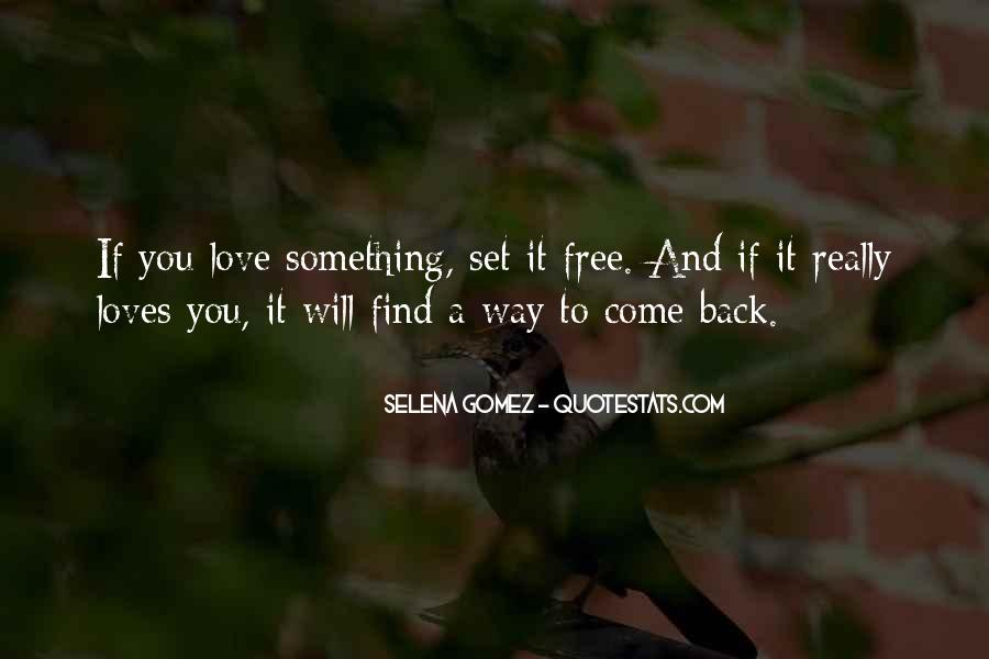 Quotes About Love Set Something Free #1049383