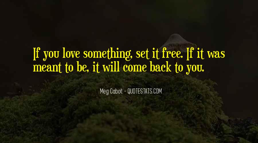 Quotes About Love Set Something Free #1168294