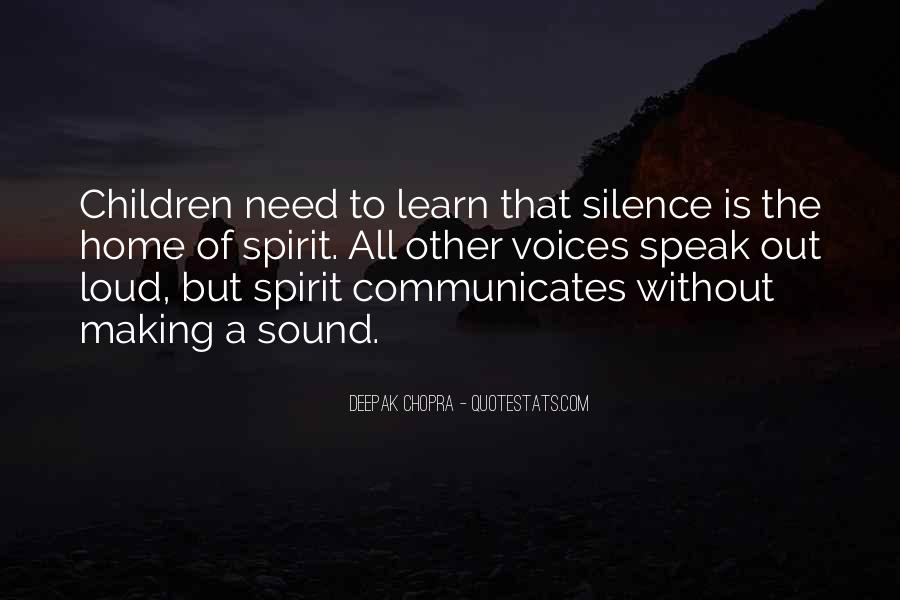 Quotes About Children's Voices #1060611