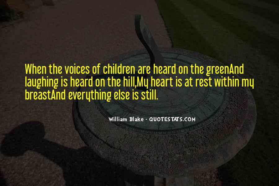 Quotes About Children's Voices #1775372