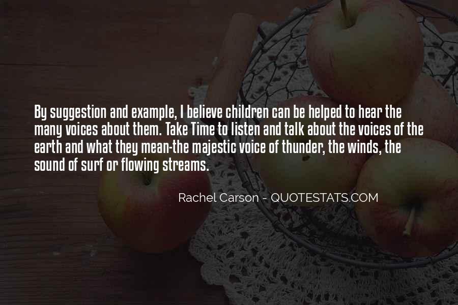 Quotes About Children's Voices #431323