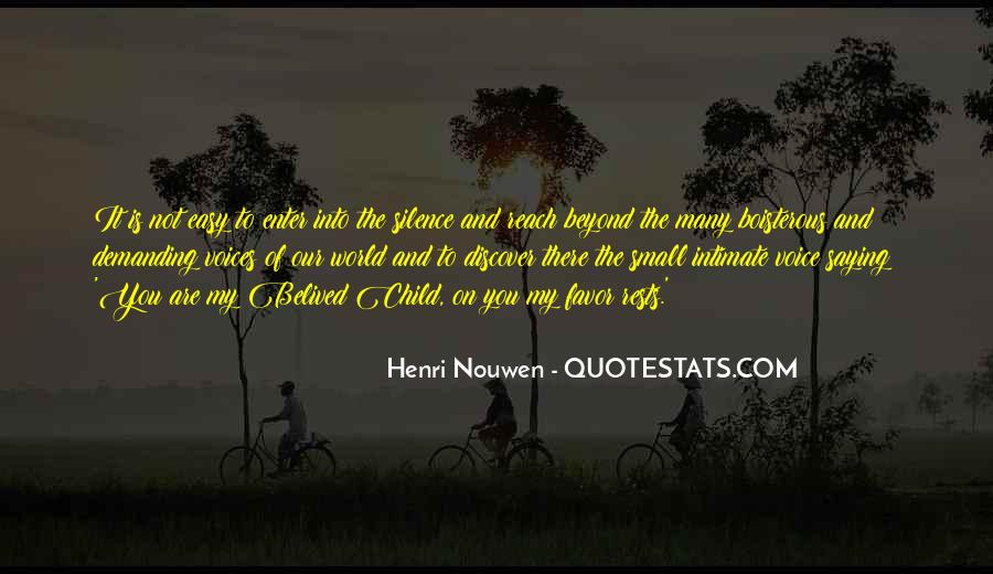 Quotes About Children's Voices #487084