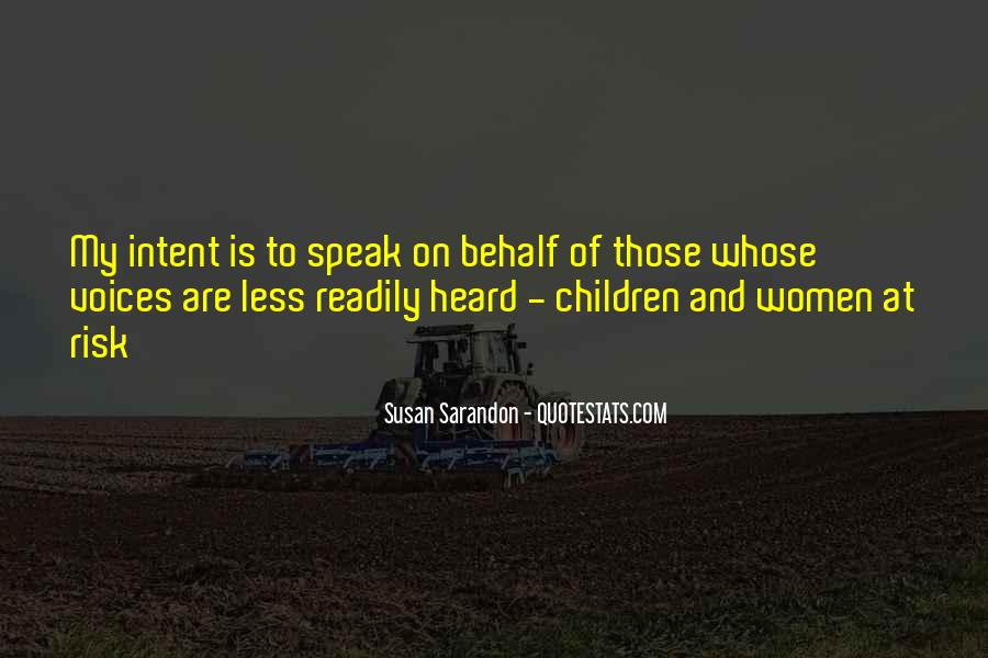 Quotes About Children's Voices #508018