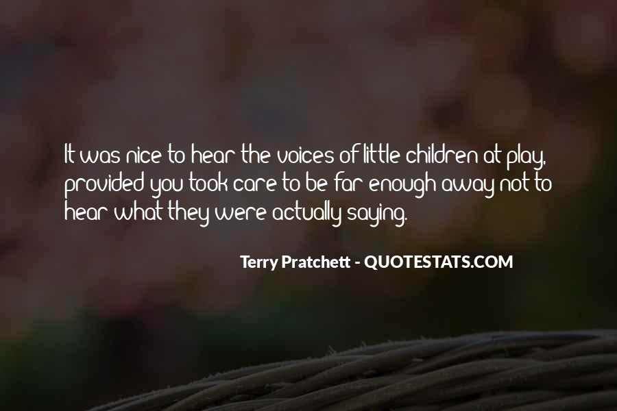 Quotes About Children's Voices #645005