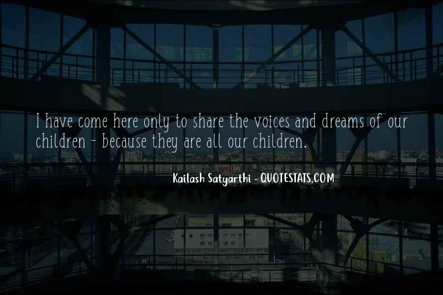 Quotes About Children's Voices #75891