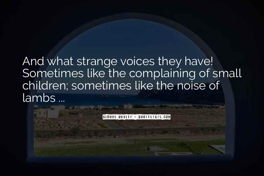 Quotes About Children's Voices #914269