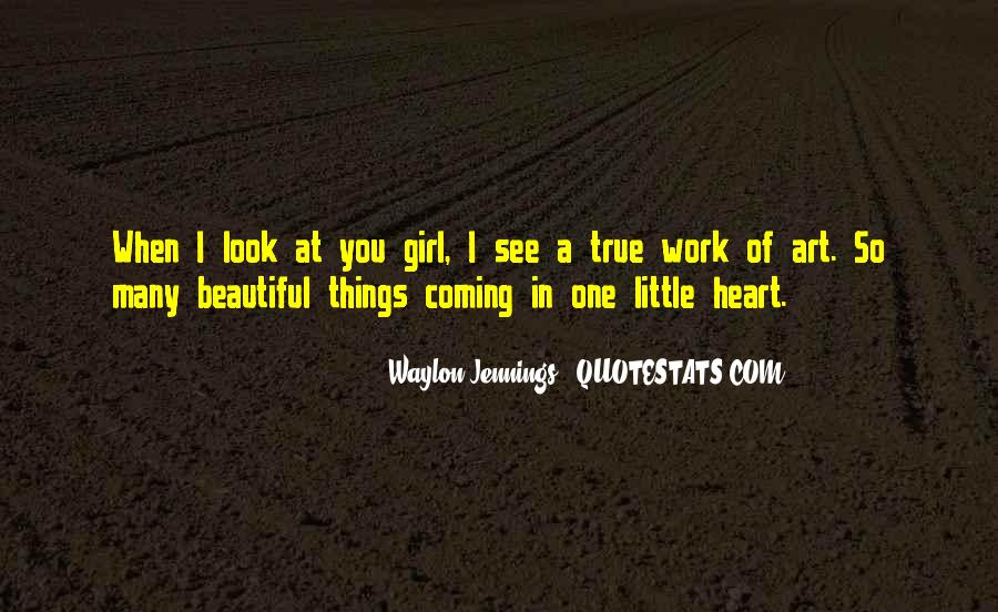 Quotes About A Beautiful Girl #218992