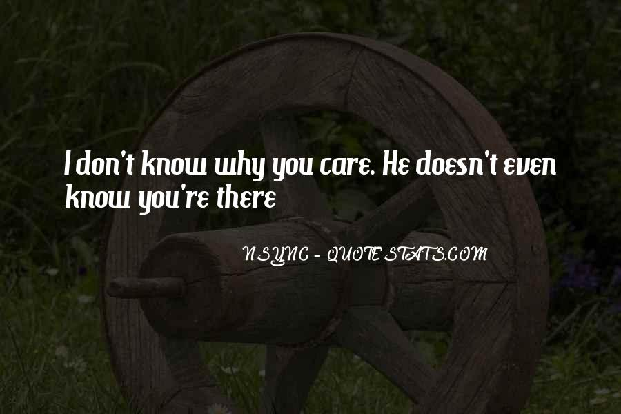 Quotes About Bf Who Doesn't Care #127336
