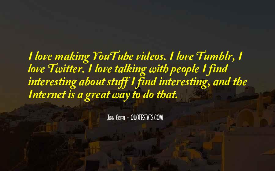 Quotes About Making Videos #1149976
