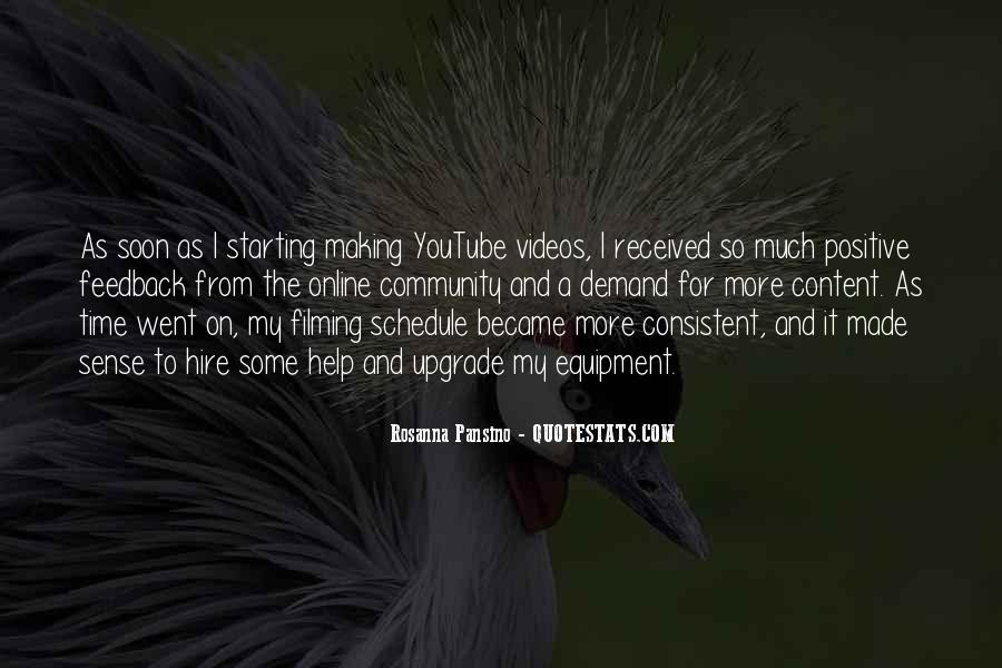Quotes About Making Videos #1856041
