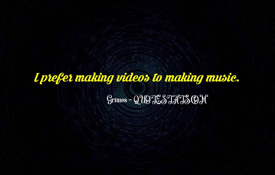 Quotes About Making Videos #314364