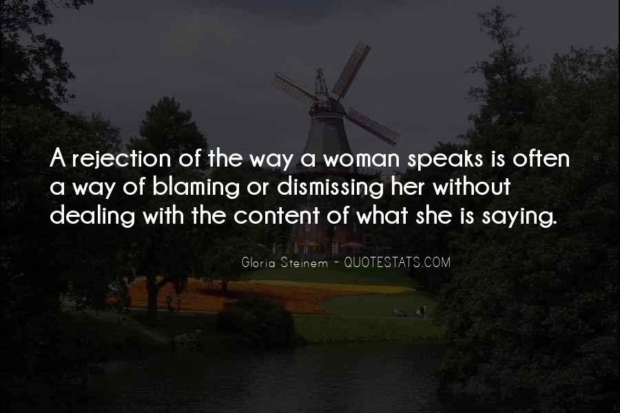 Quotes About Not Blaming Others #112996