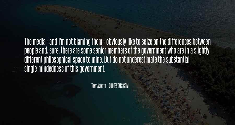 Quotes About Not Blaming Others #120214