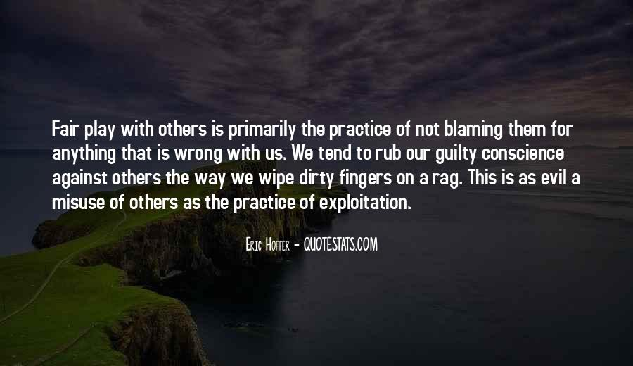 Quotes About Not Blaming Others #1677384