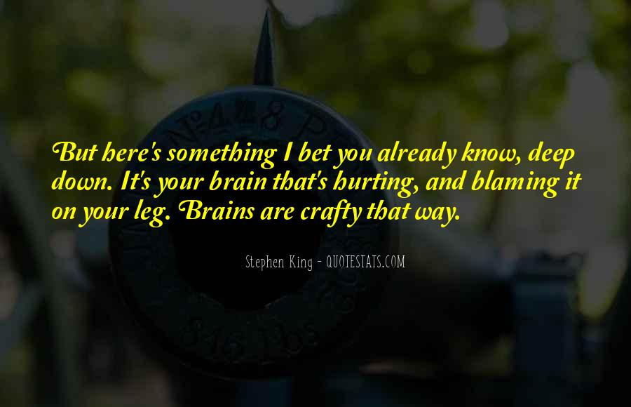 Quotes About Not Blaming Others #176513
