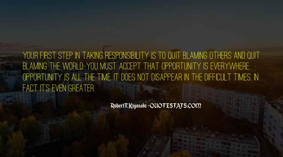 Quotes About Not Blaming Others #196553