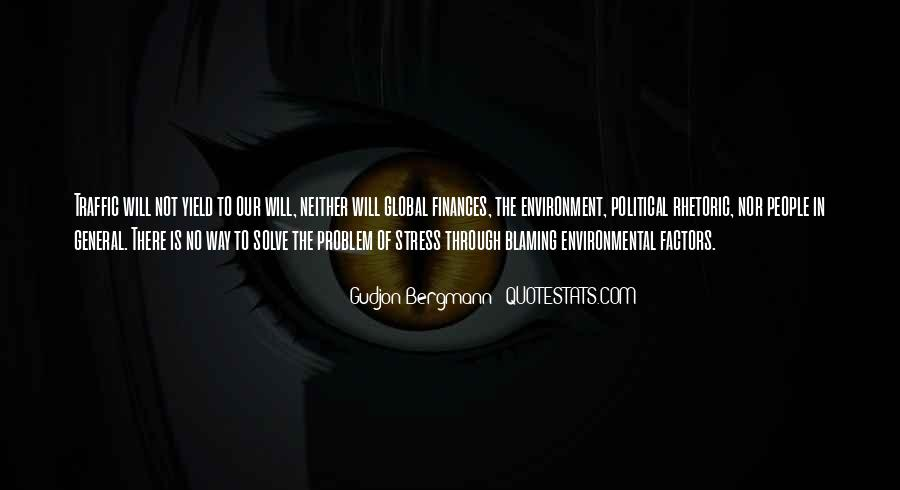 Quotes About Not Blaming Others #58110