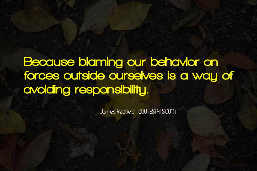 Quotes About Not Blaming Others #61857