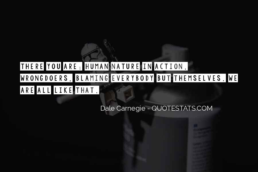 Quotes About Not Blaming Others #64332