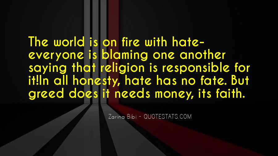 Quotes About Not Blaming Others #84517