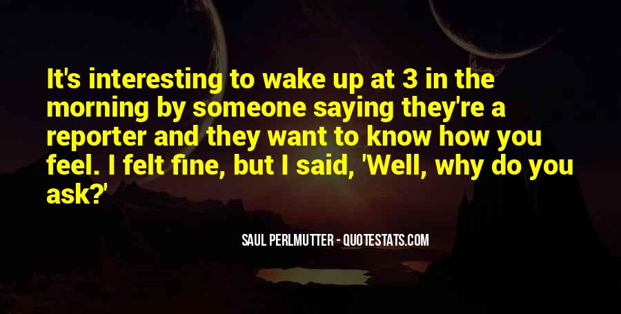 Quotes About Saying You're Fine #1411490