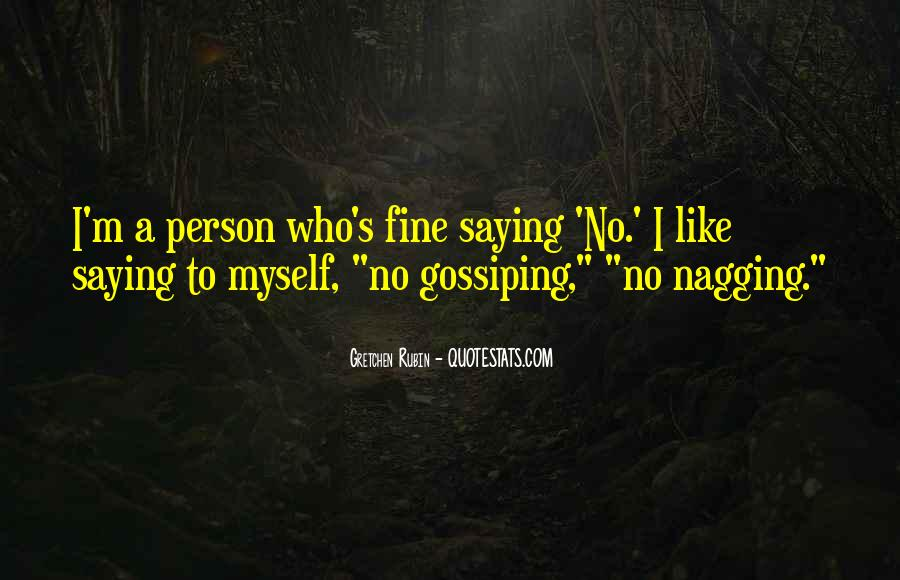 Quotes About Saying You're Fine #838124