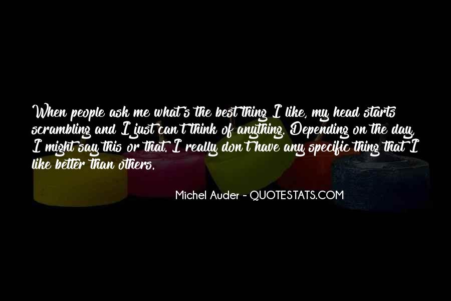 Quotes About What Others Think Of Me #1231127