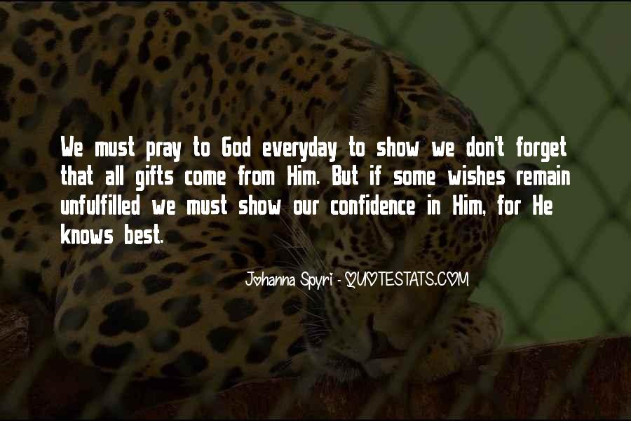 Quotes About God Knows Best #1500209